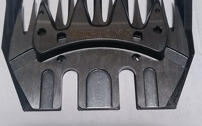 Prototype de sabot de tondeuse en impression 3D